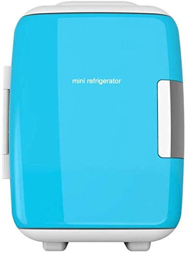 ZHENYUE Elektrische ini Frige Cooler Warer Teroelectric Quiet Energy Efficient Tragbare ini Kühlschrank Auto oder Roo Büro-blau 9L ZHENYUE (Color : Blue, Size : 9L)