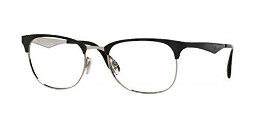 Ray-Ban Unisex-Erwachsene Brillengestell RX6346, Mehrfarbig, 52