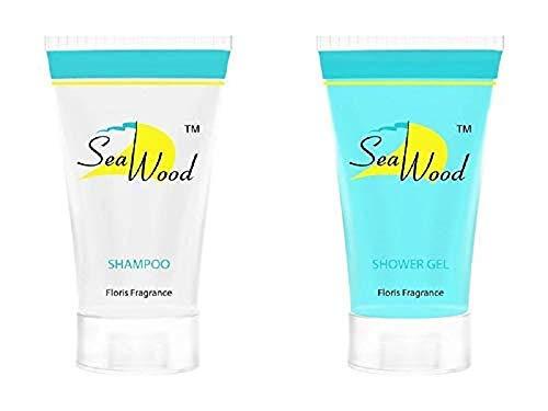 Hotel-Toilettenartikel 30 ml Shampoo und Duschgel 100 Einheiten umfassen je 200 Einheiten von Seawood -