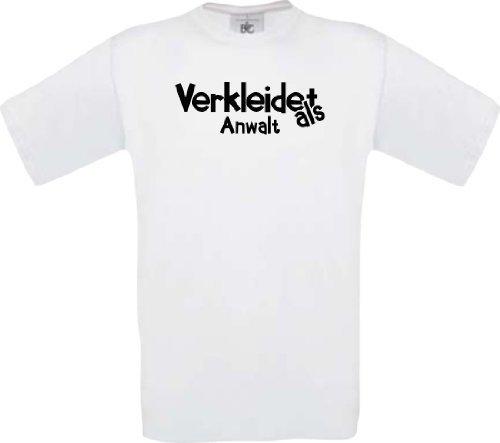 Kinder-Shirt Karneval Verkleidet als Anwalt Fasching Kostüm Verkleidung, -