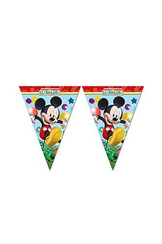 (Mickey Maus Wunderhaus Wimpelkette Kindergeburtstag)