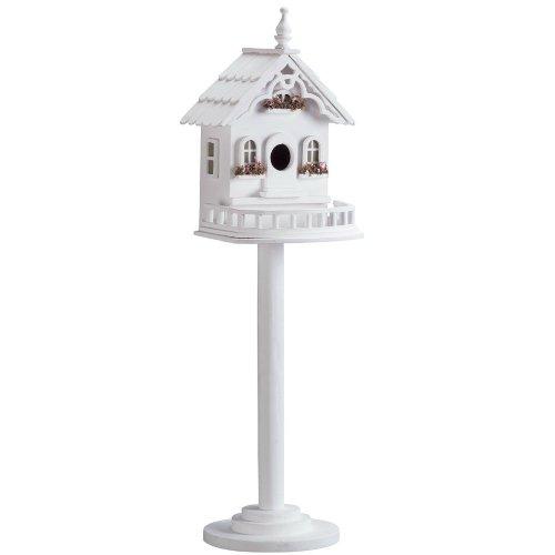 AEWholesale Victorian Pedestal Bird House -