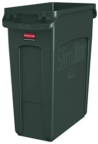 Rubbermaid Commercial Slim Jim ranuras ventilación