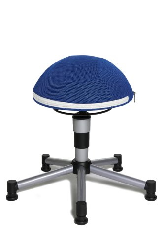 TOPSTAR Drehhocker Sitness Junior Half Ball, blau
