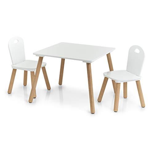Scandi - Juego sillas Mesa Infantiles 3 Piezas