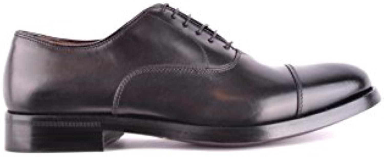 DOUCAL'S Hombre MCBI102012O Negro Zapatos De Cordones -
