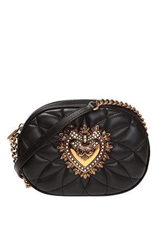 Dolce E Gabbana Borsa A Spalla Donna Bb6704av96780999 Pelle Nero