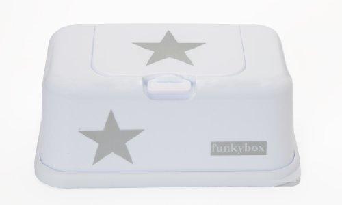 Funky Box FB09Feuchttücherreisebox weiß mit Sternen