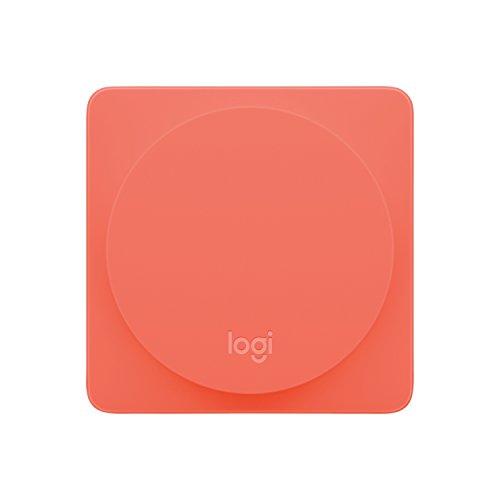 Logitech Pop Zusatzschalter (geeignet für Pop Schalter für Hausautomatisierung Starter Pack) coral