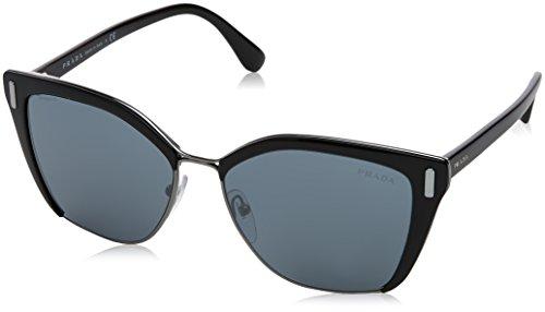 Prada Damen 0PR56TS 1AB5L0 57 Sonnenbrille, Schwarz Gunmetal/Grey Black