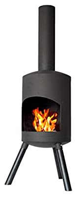 Chiminea Authentic Small - 115cm X 30cm - Black from 2L Home and Garden
