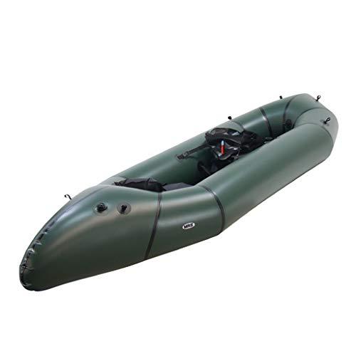 AA-PHUJ Drift Boat per Barca da Pesca in Canoa Kayak Gonfiabile Doppio/Verde
