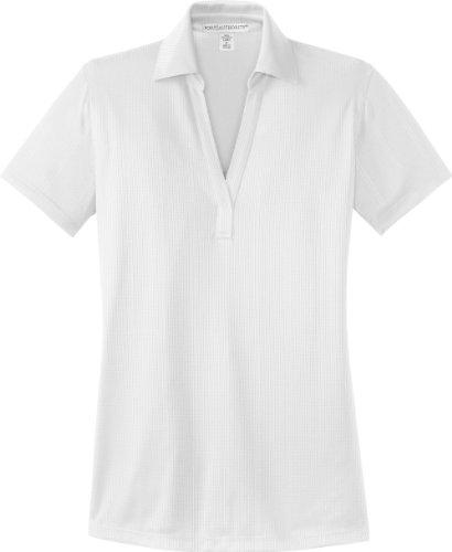 Autorité portuaire femmes Patte T-Shirt de Sport style ouvert Blanc