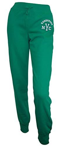 KangaROOS Jogginghose 176/182 grün Mädchen Sweathose Freizeit Sport Hose