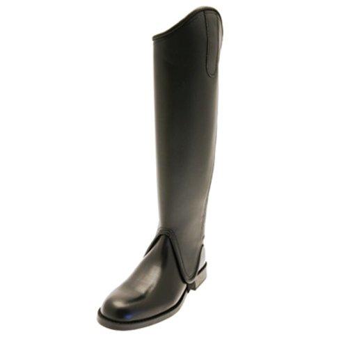 Tuffa Trakehner - Polaina, color negro, talla extra-extra-grande-longitud-corta