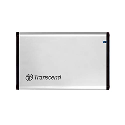 Transcend TS0GSJ25S3 externes Metallgehäuse (6,4 cm (2,5 Zoll), USB 3.1)