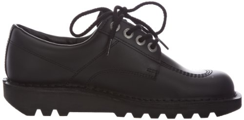 Kickers Kick Lo Core Men's Shoes – Black/Black, 6.5 UK