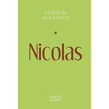 Le Livre de mon prénom - Nicolas 13