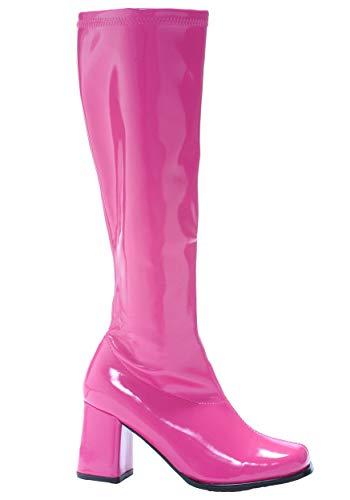 Ellie Shoes Women's Fushsia Gogo Boots Size 3 (Adult Lingerie Kostüm)