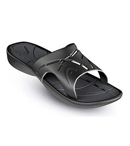 HEAD Unisex-Erwachsene Sandal Chrono Flip-Flops, Schwarz (BK), 43 EU