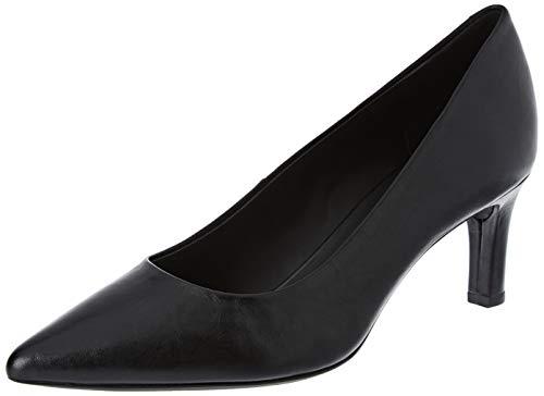 Geox D BIBBIANA A, Zapatos de Tacón para Mujer, Negro Black C9997, 35 EU