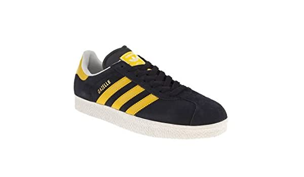 91f963ae2b8b Adidas Original Gazelle 2 Navy Yellow White Suede New Mens Trainers Shoes  Boots-8  Amazon.co.uk  Shoes   Bags