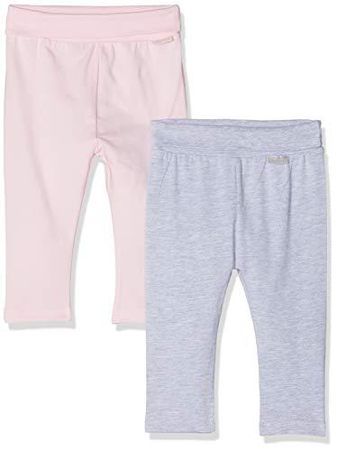 Playshoes Unisex Baby Rosa-grau Im 2er Pack Leggings, (Sortiert 999), 62 (Herstellergröße: 62/68) (erPack 2) -