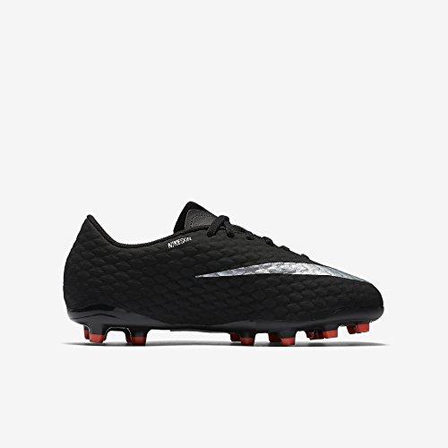 Nike Unisex-Kinder Jr Hypervenom Phinish Ii Fg Fußballschuhe, Schwarz (Black/Metallic Silver-Black-Anthracite), 36 EU