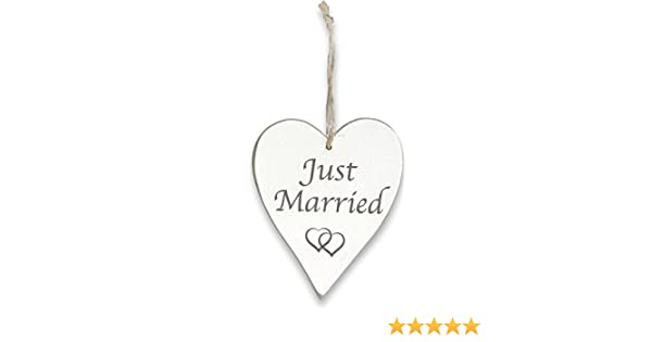 Amscan 2.7 m Holog Just Married Banner Party Accessory