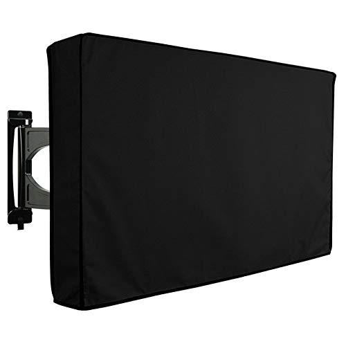 JJ.Accessory TV-Außenabdeckung mit Mikrofasertuch Wetterfest Staubdichter Universal-TV-Displayschutz für LCD-, LED- und Plasma-Fernseher (Plasma Tv 51)