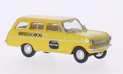 Opel Kadett A CarAVan, Opel Voigt, Modellauto, Fertigmodell, Brekina Drummer 1:87