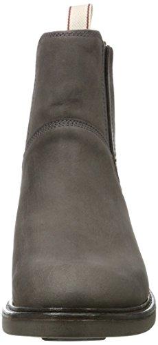 Grau grigio Stivali Ashley Guanto Asfalto Chelsea Donna n6q6XxIR