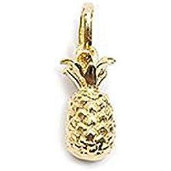 Colgante bañado en oro–Piña–Bijou Exotic Fruit