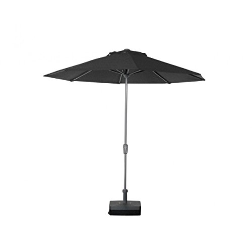Parasol - Teatro Rond 2.7m O'Bravia 300g/m2 Anthracite + Pied remplissable