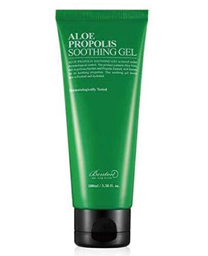 Aloe Vera Soothing Gel (Gel Facial Calmante y Antiinflamatorio - Aloe Propolis - 100 ml - Benton)
