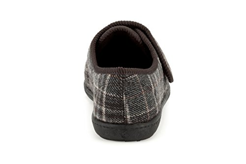 Clarks  King Switch, Chaussons pour homme One Size Fits All Marron - marron