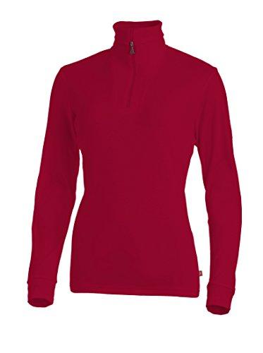 Medico Damen Ski Shirt, 46, 100% Baumwolle, langarm, Reißverschluss, 537a
