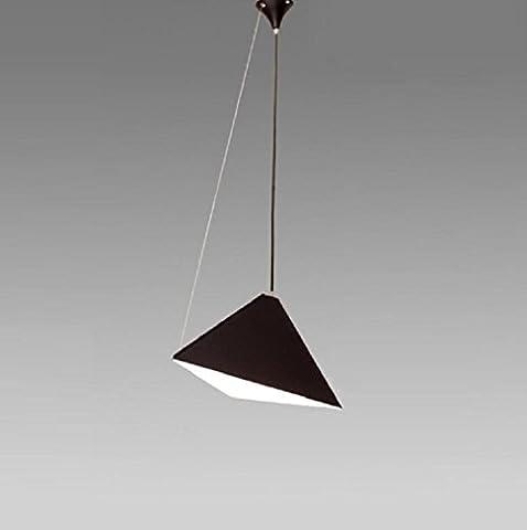 AMZA Use modern metal design restaurant office bar Chandelier Adjustable angle E27 line length 100cm (length adjustable)