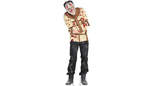 Psycho Circus Kostüm - amscan Halloween-Kostüm für Herren, Psycho -