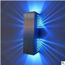 AC85v 265V 2 1W Bhne Leichte Moderne Rechteckige LED Wandleuchten Wohnzimmer Schlafzimmer Flur
