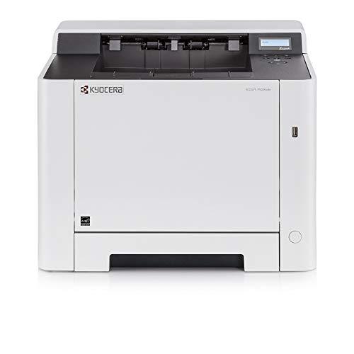 Kyocera Ecosys P5026cdn Laserdrucker. 26 Seiten pro Minute. Farblaserdrucker inkl. Mobile-Print-Unterstützung, Amazon Dash Replenishment fähig