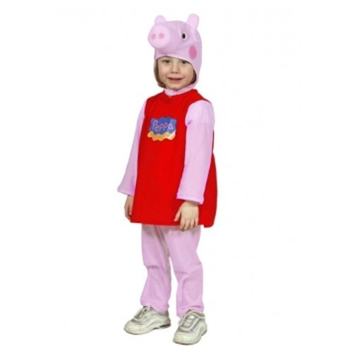 Comogiochi Costume Bambina Peppa Pig 5-6 Anni