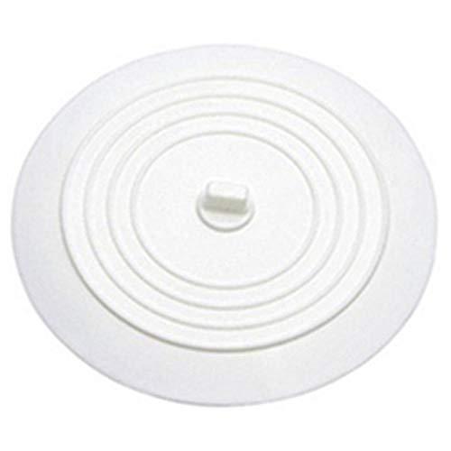 GAFAGAFA Auslaufsicherer Wasserstopper Waschbecken Haarfänger Runder Silikonflacher Deckel Küchenablassschraube Universal