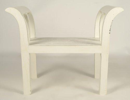 Kartini chair - single/straight - antique white
