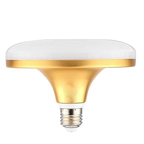 Best Choise E27/E26 24W 48LED 5730SMD 2100-2350 LM Warm White Cool White UFO Energy Saving Lamp AC 220-240V Shockproof Flying Saucer Light Energy Saving ( Color : Cool White )