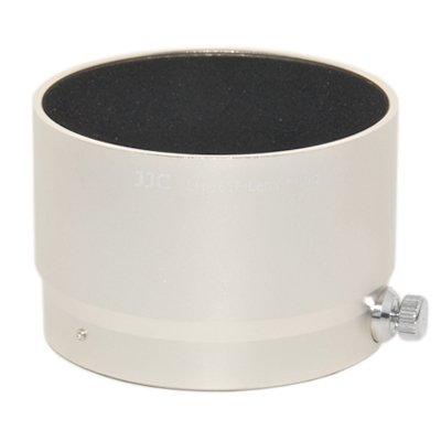 JJC LH-J61F Gegenlichtblende (Streulichtblende, Sonnenblende) für Olympus M.ZUIKO DIGITAL ED 75mm 1:1.8 ersetzt Olympus LH-61F Camera Lens Hood