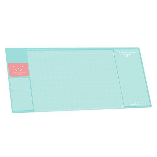 Befitery Schreibtischunterlage Multifunktions Schreibtisch Matte Pad Tischmatte kreativ Computer Laptop Mausunterlage Schreibunterlage (Blau) -