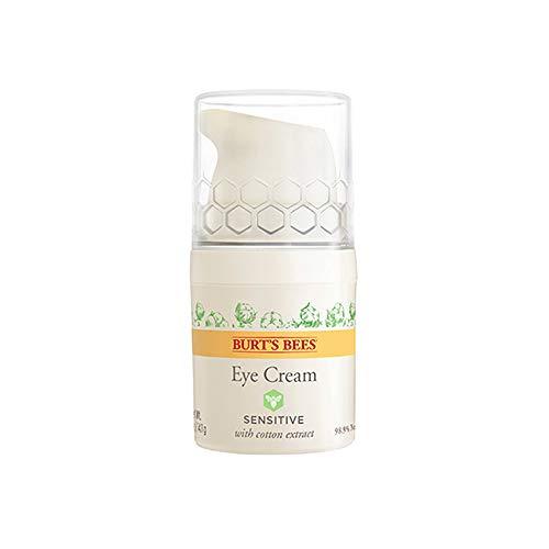 Burt's Bees Natürlich Augencreme für empfindliche Haut mit Baumwollextrakt, 1er Pack 10 g - Burts Bees Aloe