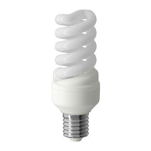 IKEA Engergiesparlampe SPARSAM - DIMMBARE Spiralleuchte Energiesparleuchte - 15 W - 820 Lumen - 2700 K - 10.000 Std. -