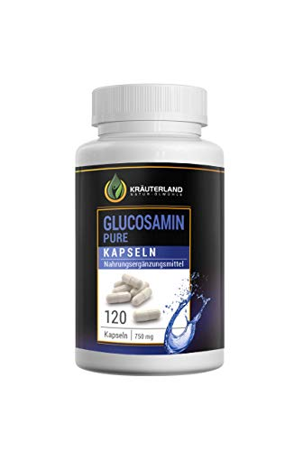 Glucosamin Kapseln • ab 8,90 für 120 Kapseln à 750mg • reines Glucosamin • hochdosiert • in wiederverschließbaren Frische-Dosen • sofortiger Versand (120 Kapseln)